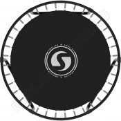 Батут SWOLLEN Classic Black 6 FT