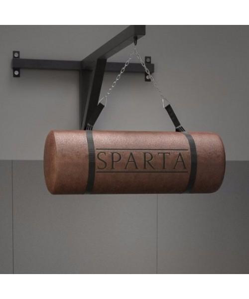 Мешок-апперкотный для MMA SPARTA из воловьей кожи 0.86 м 320 мм 30 кг