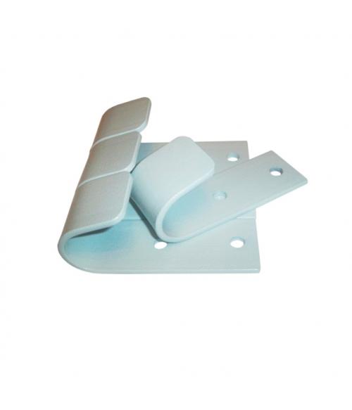 Комплект крюков для турника 3 в 1 MDL белый