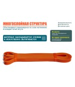 Резинова петля HVAT оранжевая 2-15 кг