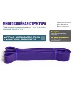 Резинова петля HVAT фиолетовая 12-36 кг