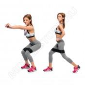 Набор фитнес резинок Hip Bands GoFLEX Strap