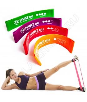 Набор для фитнеса HVAT Mini Bands HVAT