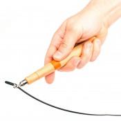 Скакалка скоростная HVAT с деревянными ручками