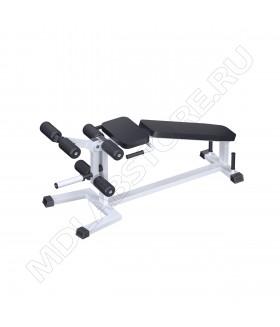 Сгибание и разгибание ног на свободных весах ARMS AR034