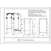 Силовая рама ARMS AR017.3
