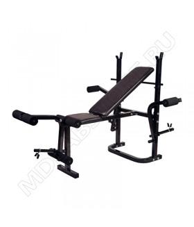 Силовая скамья со стойками Royal Fitness BENCH-1521