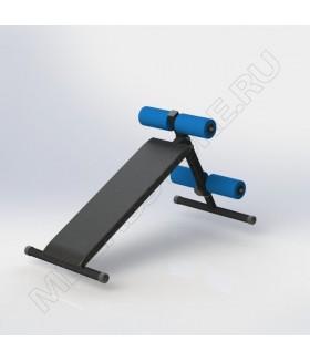 Скамья универсальная регулируемая Spektr Sport ST-06 черная
