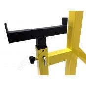 Стойка телескопическая MDL для приседаний и жима с подстраховкой желтая