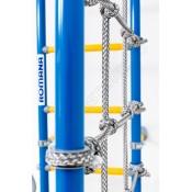 Шведская стенка ROMANA S4 сиренево-голубая