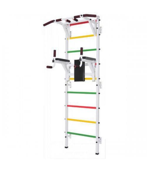 Шведская стенка MDL пристенная стандартная белая PR-S-B-102.301.000