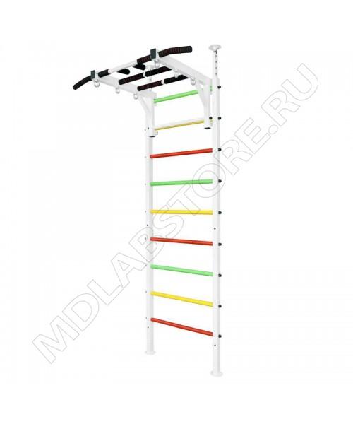 Шведская стенка MDL в распор усиленная белая VR-U-B-105.000.000