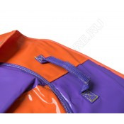 Тюбинг (санки ватрушка) Classic Maxi 100 оранжево-фиолетовый