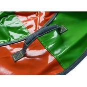 Тюбинг (санки ватрушка) Classic Maxi 100 зелено-оранжевый