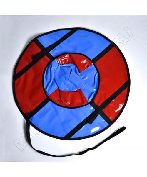 Тюбинг (санки ватрушка) Classic Mini 80 красно-голубой