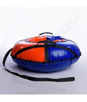 Тюбинг (санки ватрушка) Classic Mini 80 оранжево-синий