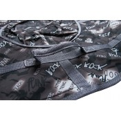 Тюбинг (санки ватрушка) Glamour 100 черный рок