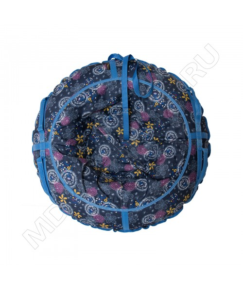 Тюбинг (санки ватрушка) Glamour 100 одуванчики на синем