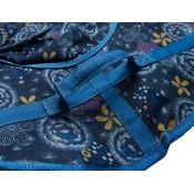 Тюбинг (санки ватрушка) Glamour 120 одуванчики на синем