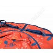 Тюбинг (санки ватрушка) Glamour 120 oранжевые ракеты