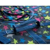 Тюбинг (санки ватрушка) Glamour 120 разноцветные звезды