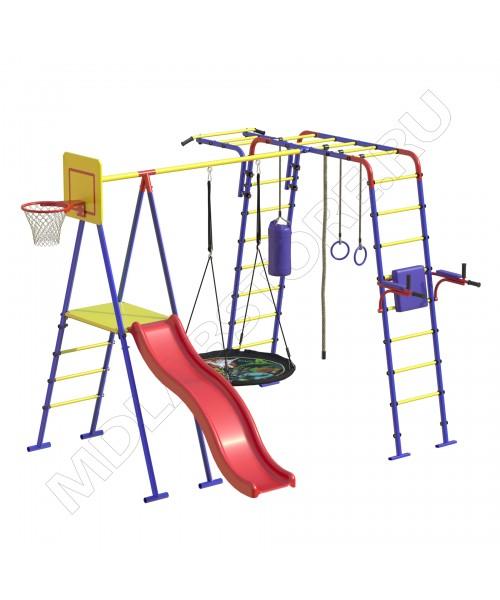Уличный детский спортивный комплекс MDL Семейный Плюс