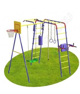 Уличный детский спортивный комплекс MDL Юниор Плюс (пластиковые качели)